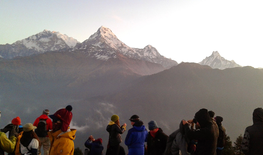 Annapurna Morning Sunrise View Trek
